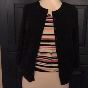 Talbots Sweater Set - 3/4 Sleeve Cardi and Tank